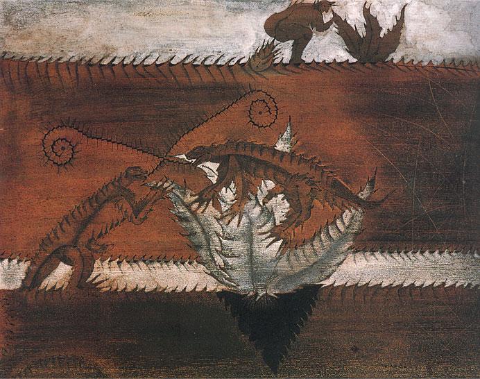 Iguanas y Agaves
